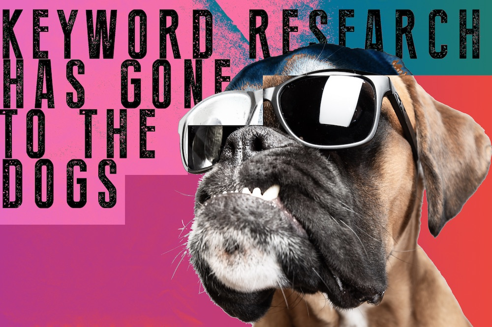 keyword research has gone to the dogs